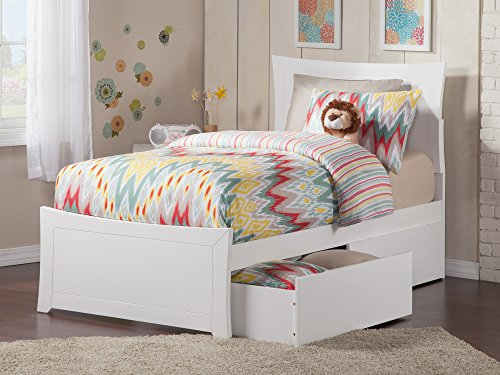 Metro Platform Bed with 2 Urban Bed Drawers