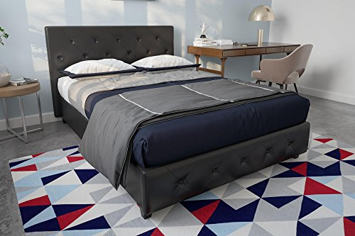 DHP Dakota Upholstered Platform Bed