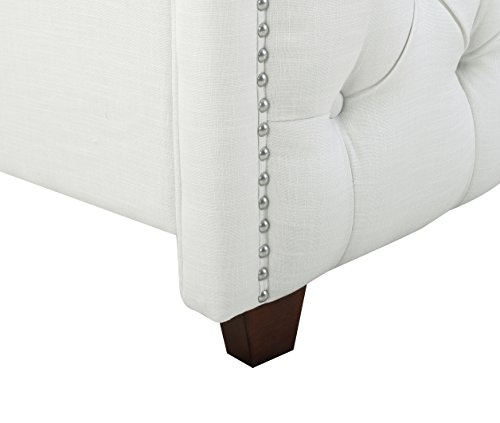 Queen Wingback Tufted Upholstered Bed