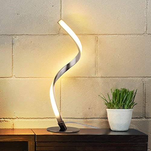 Spiral Design LED Table Lamp