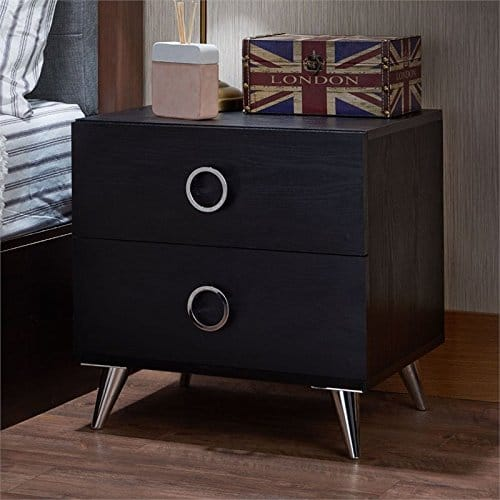 BOWERY HILL 2 Drawer Nightstand