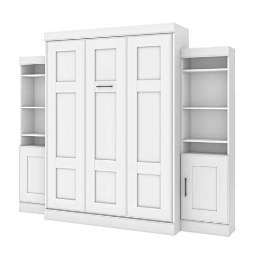 Queen Murphy Bed with Two Storage Units