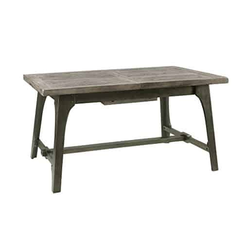 Oliver Extension Gray Dining Table