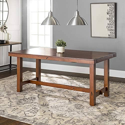 Rustic Farmhouse Wood Distressed Dining Room Table