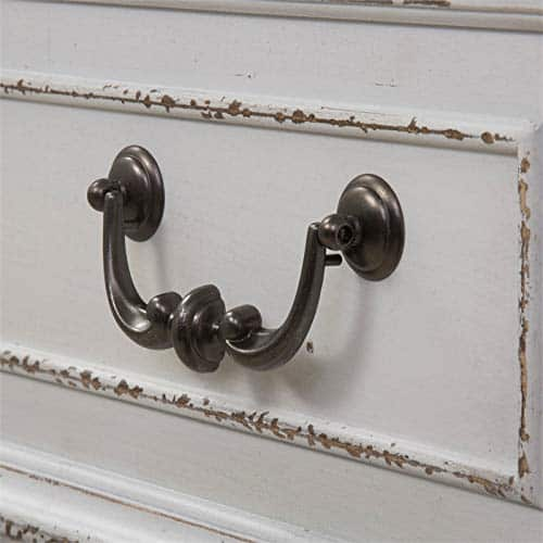 Liberty Furniture Abbey Park Mirrored Door Chest