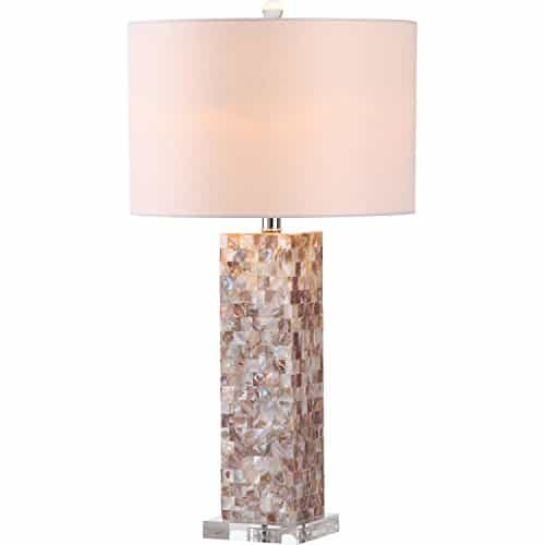 Safavieh Lighting Collection Jacoby Cream 28.9-Inch Table Lamp (Set of 2)