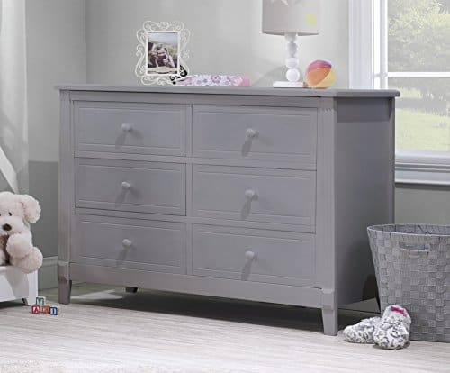 Sorelle Berkley Gray Double Dresser