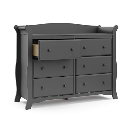 Avalon 6 Drawer Universal Dresser