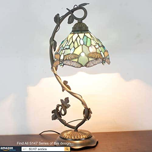 Tiffany Stained Glass Desk Lamp