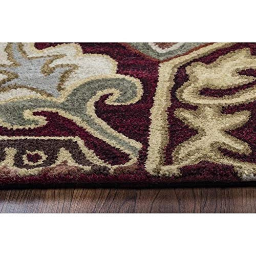 Rizzy Home Collection Wool Southwest Inspired Area Rug