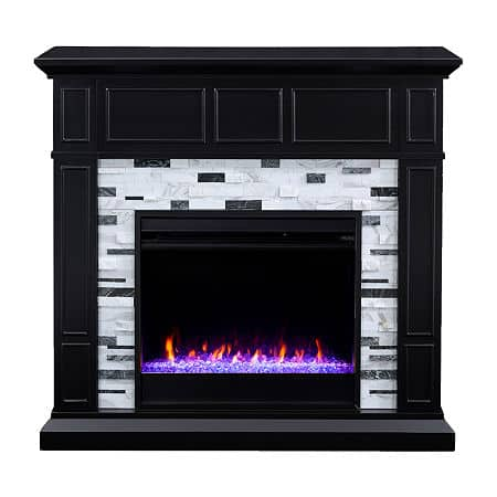 Dadna Electric Fireplace, One Size , Black