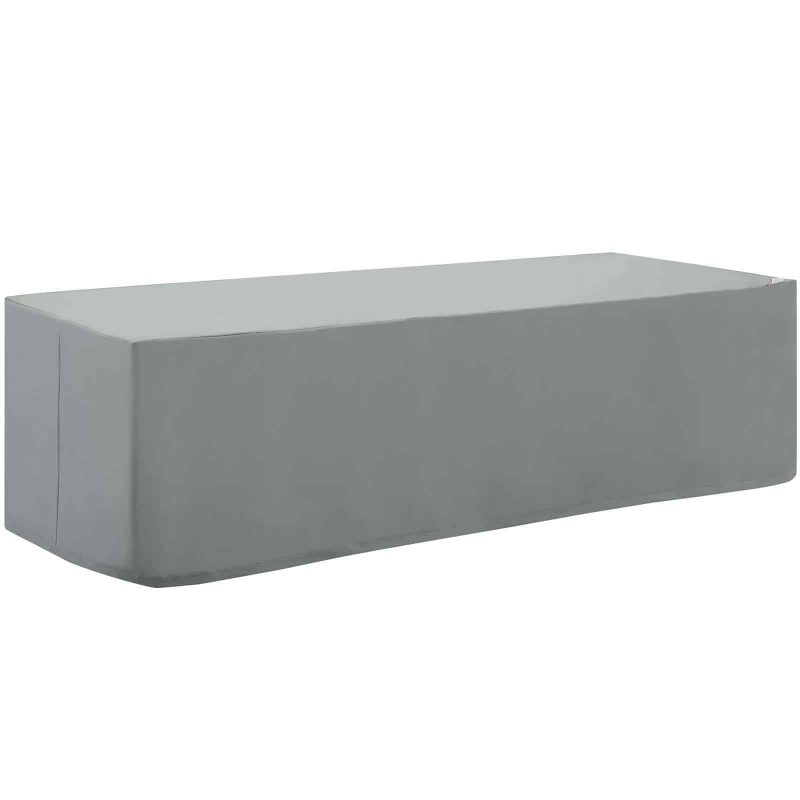 Immerse Convene / Sojourn / Summon Chaise or Sofa Outdoor Patio Furniture Cover in Gray