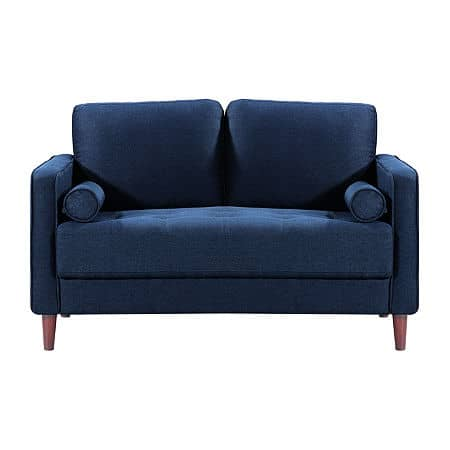Lawrence Loveseat, One Size , Blue