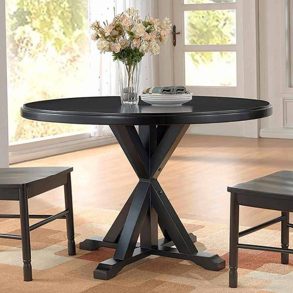 "48"" Round Trestle Dining Table"