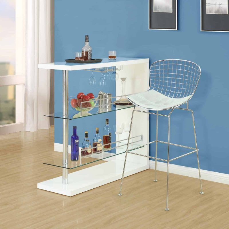 CAD Bar Stool in White