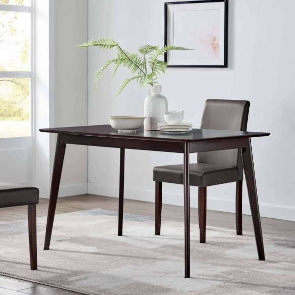 "Oracle 47"" Rectangle Dining Table in Cappuccino"