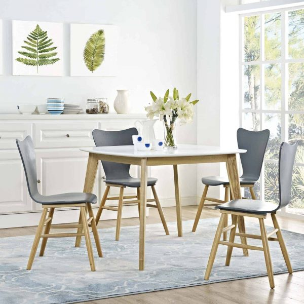 "Stratum 40"" Dining Table in White"