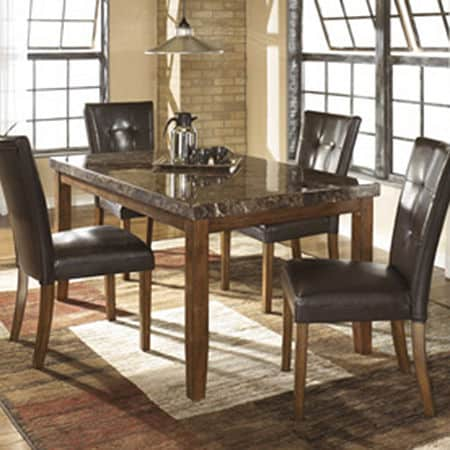 Signature Design by Ashley Lacey Dining Room Table, One Size , Brown