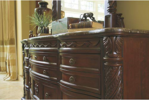 Signature Design by Ashley North Shore Brown Dresser