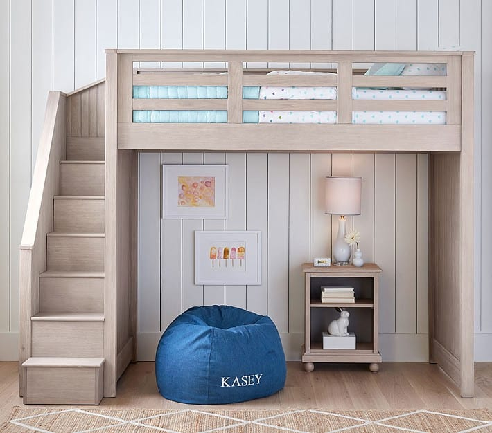 Loft beds and bunk beds
