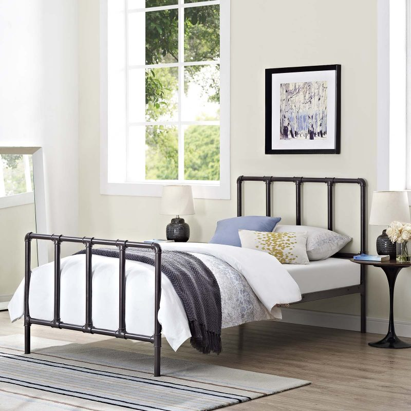 Dower Stainless Steel Bed