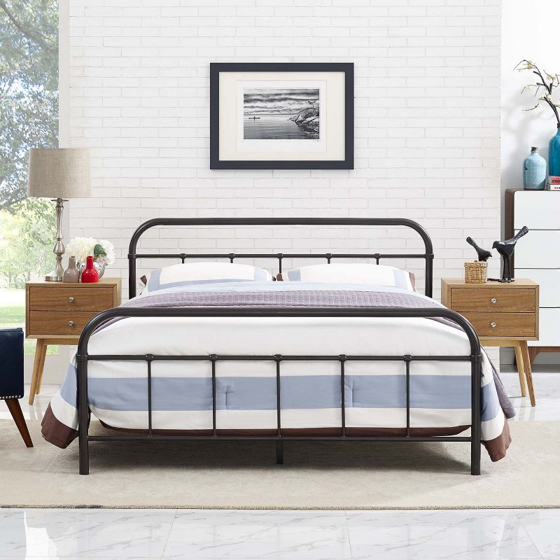 Maisie Stainless Steel Bed Frame
