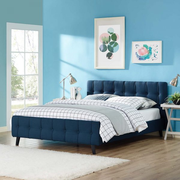 Ophelia Fabric Bed